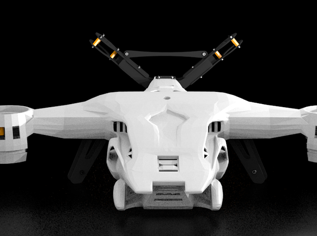HUNTER KILLER For DiaLFonZo Vtail Copter 3d printed