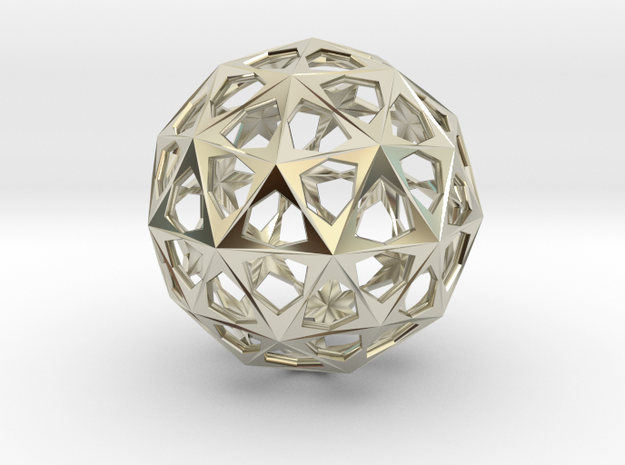 Star Sphere (Metal) 3d printed