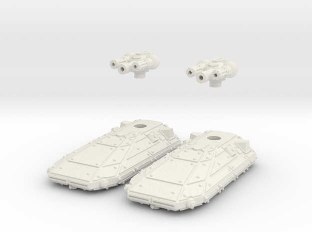 MG144-CT005A Cohesion Suppression Tank (2) 3d printed