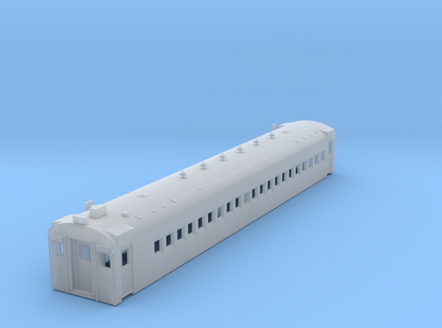 HO Scale CN CCF MU Motor Car Shell 3d printed