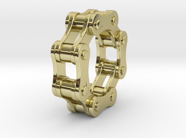 Violetta L - Bicycle Chain Ring - US 9 - 19 mm 3d printed