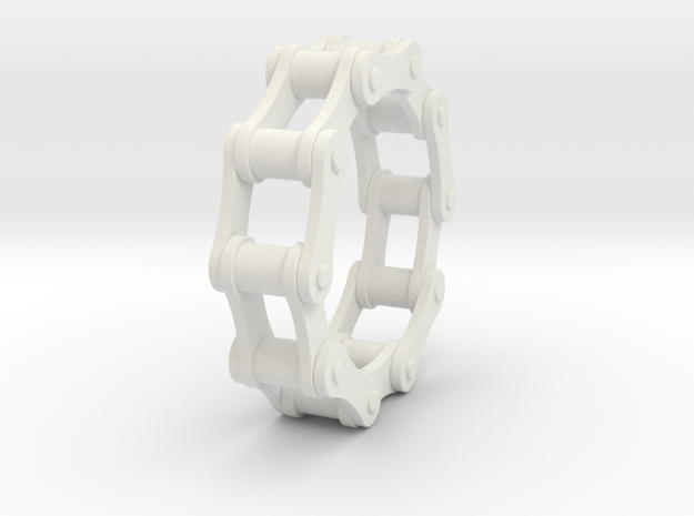 Violetta S - Bicycle Chain Ring - US 9 - 19 mm 3d printed