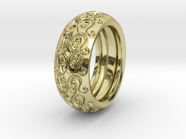 Sharon Ray - Ring - US 9 - 19 mm inside diameter 3d printed