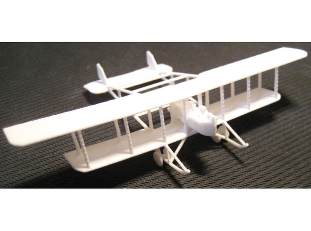 1/144 Savoia-Pomilio Farman 1914 3d printed The actual print