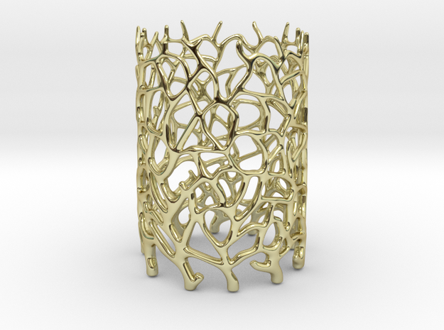 Coraline Tealight in Metal or Plastic 3d printed