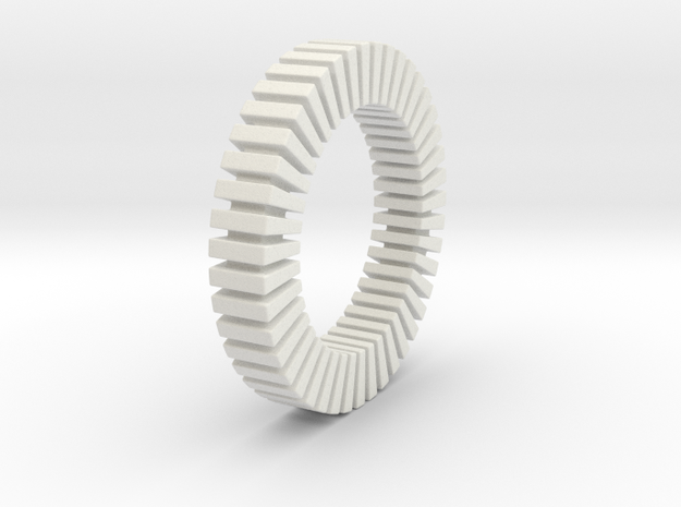Patrick Tetragon - Ring - US 9 - 19 mm 3d printed