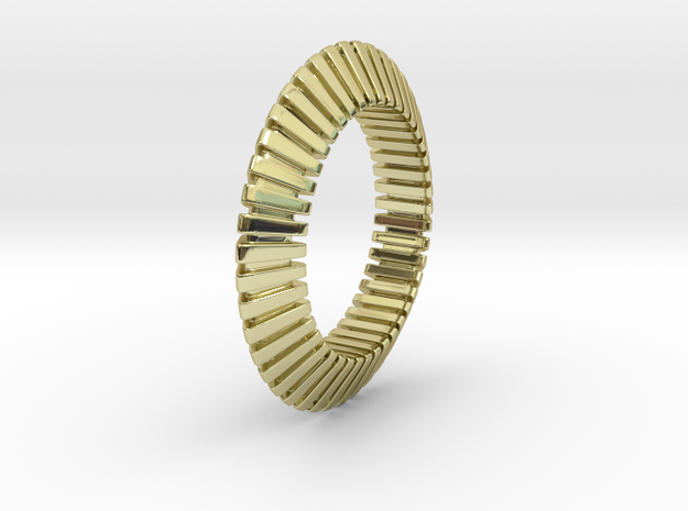 Patrick Triangle - Ring - US 9 - 19 mm 3d printed