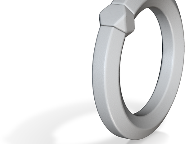 Hea - Ring - US 6¾ - 17.12 mm 3d printed