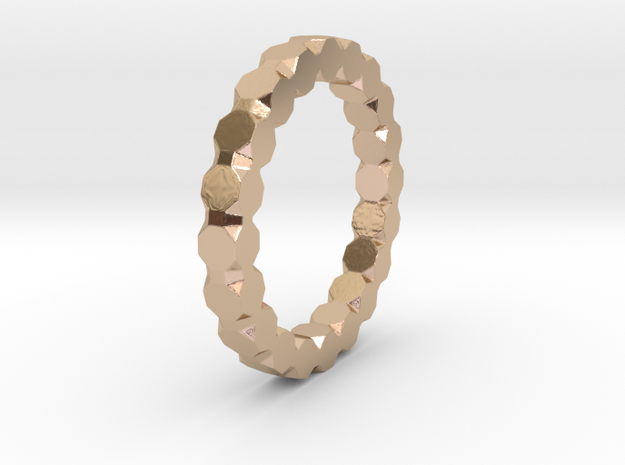Kaethe - Ring - US 6¾ - 17.12mm 3d printed