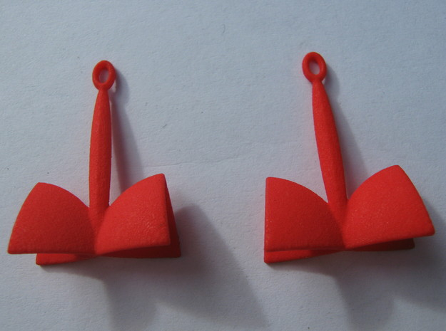 SOH Earrings 1 3d printed