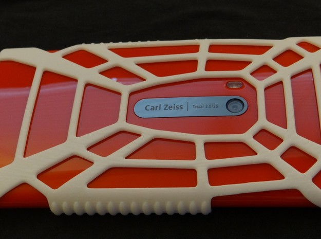 "Lumia 920 ""Spider"" Case 3d printed"
