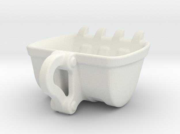 Bulldozer Mug 250ml heavy duty 3d printed