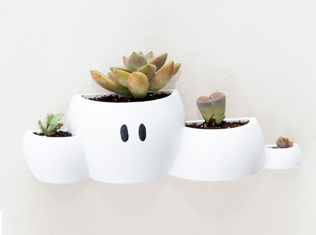 Mario Cloud Wall Planter