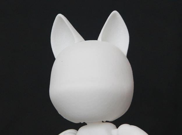 K9 Ears glue-on 3d printed
