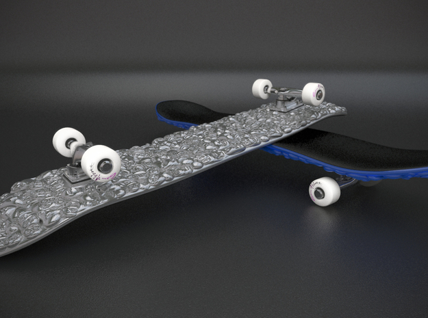 Skateboard Deck 3d printed