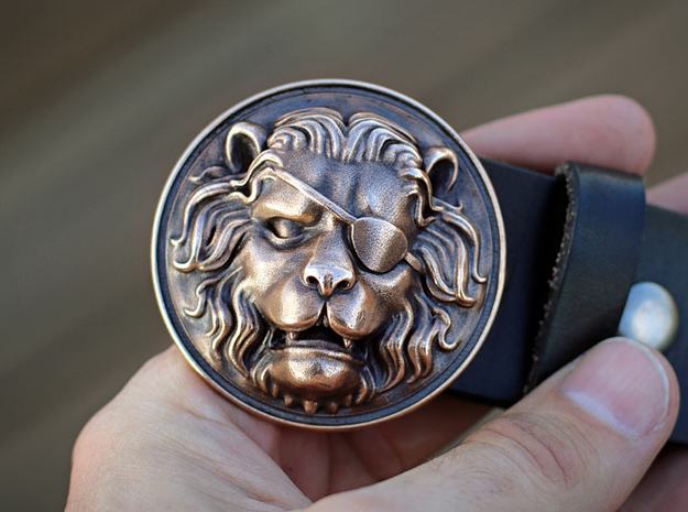 """The Colonel"" Belt Buckle"