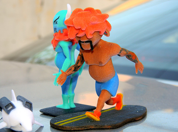 LOVO with tattoos (GWB Character) 3d printed