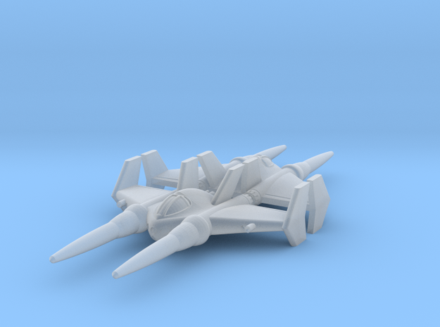 Hatamoto Space Fighter 3d printed