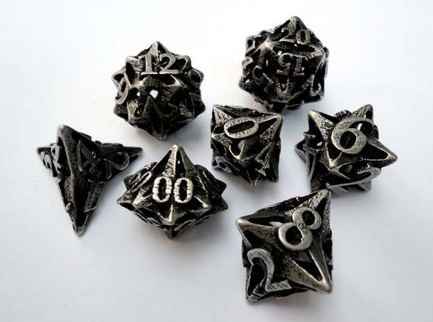Pinwheel Dice Set with Decader