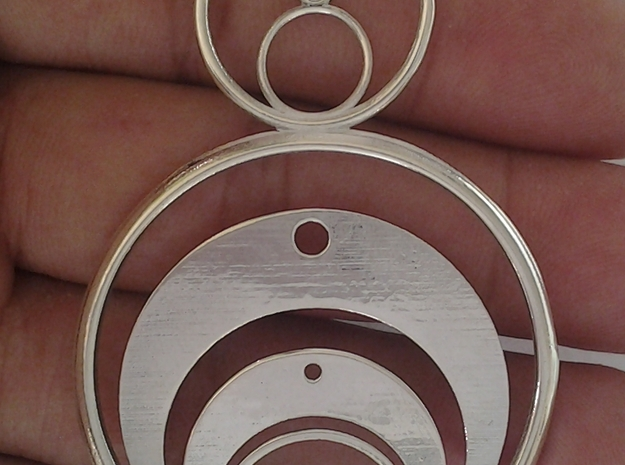 Crop Circle Inspired 1a 3d printed