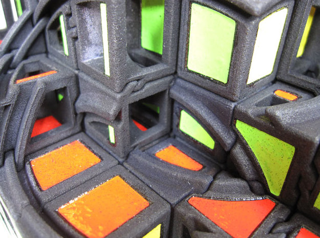 Real 6x6x6 - Part 1 of 3 3d printed