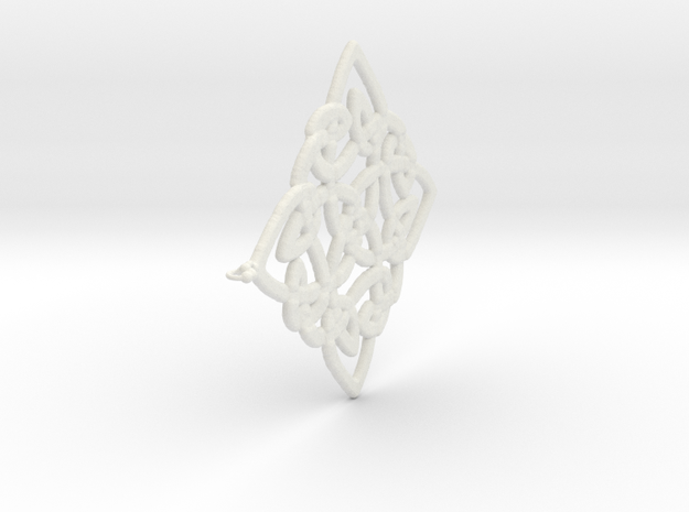 Celtic Pendent 3b 3d printed