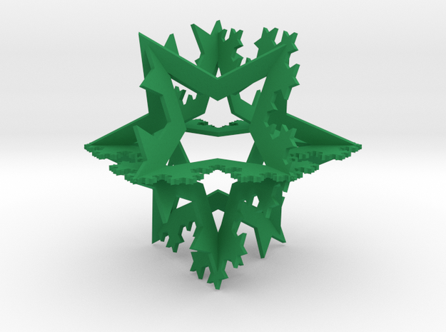 Koch Ornament, small 3d printed