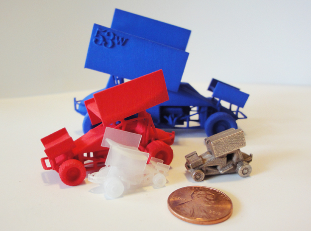 Sprint Car 1/43 Scale 3d printed Sprint car models currently available.