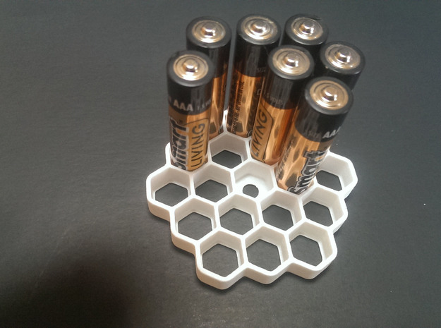 Honeycomb Battery Dispenser AAA