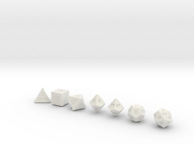 World's Smallest Dice? 3d printed