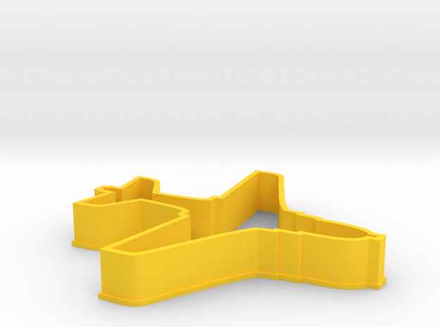 EA6B Aircraft Cookie Cutter 3d printed