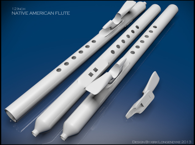 Native American Flute Kit Wind-Of-Life12inch 3d printed Native American 12 inch flute design