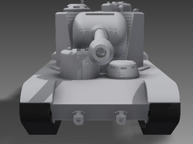 1/100 KV-5 3d printed Staring down the barrel of the KV-5-122. According to some, the KV-5-122 did not have additional turrets. I say I can do whatever I want, since the tank was never actually built.