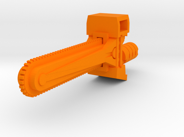 Ratchetrooper Weapon 02 - Chainsaw 3d printed