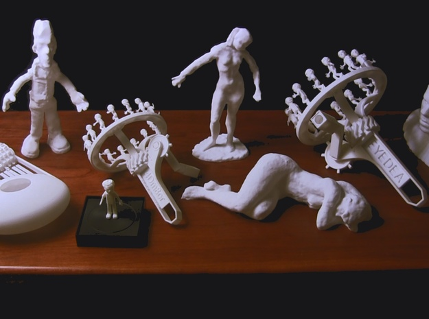 Littler Tim 3d printed EYEDEA family