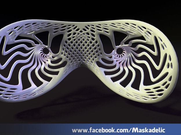 Party Mask Tunnel Vision: Tendril 3d printed the view from inside
