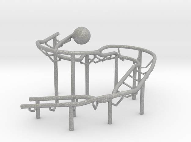 Rolling Ball Sculpture 3d printed