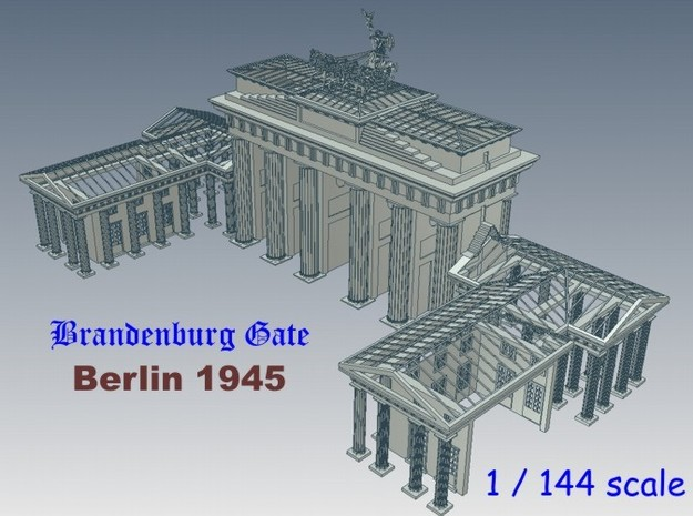 1-144 Brandenburg Isolated Gate Ruins