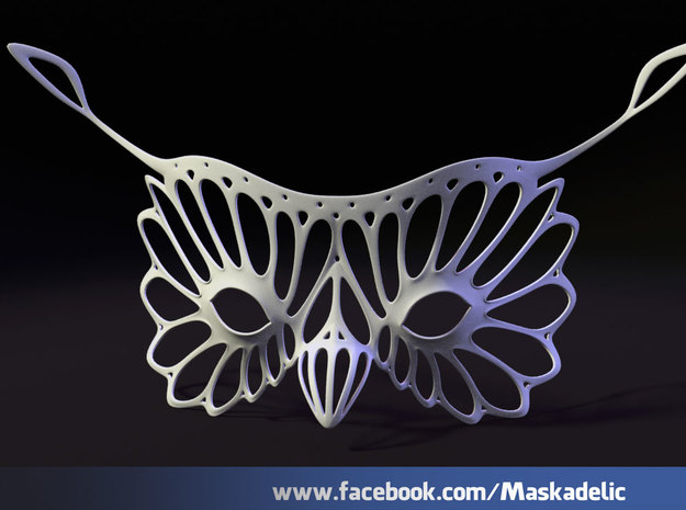 Party Mask 'Hoots' 3d printed Hoots