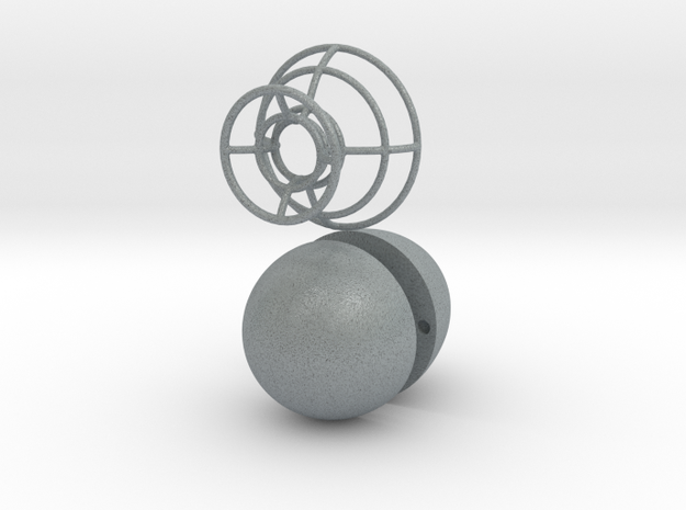 Ring box - Egg 3d printed