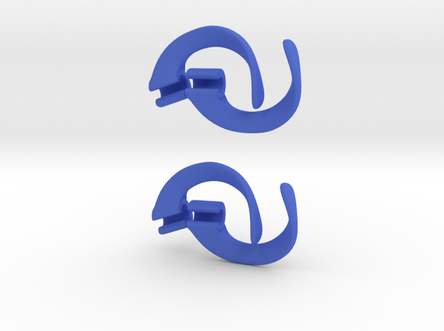EarPod Savers double pack for active people 3d printed