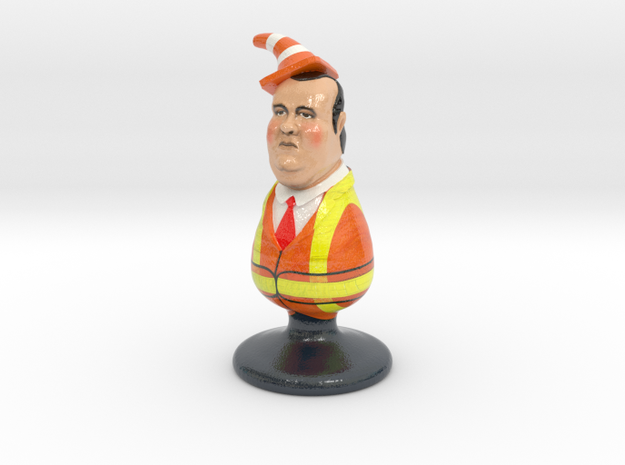 Chris Christie the Homophobic Bridgegate Plug 3d printed
