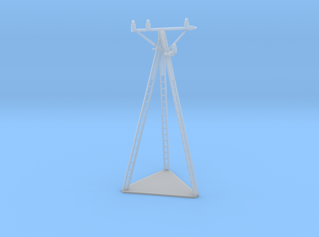European Electric Pole Z Scale