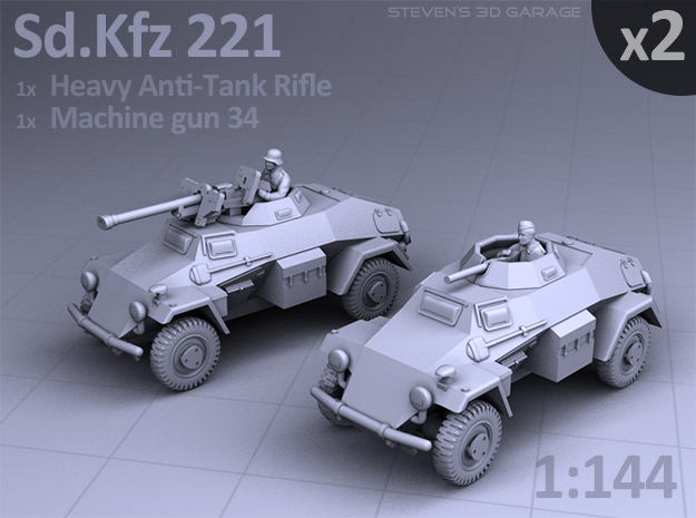 Sd.Kfz 221 (2 pack)