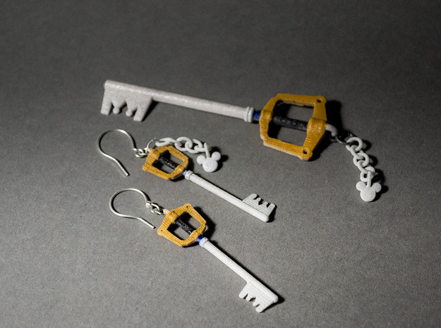 Kingdomblade Earring Pair 3d printed