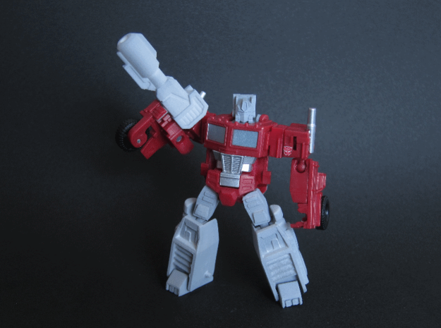 Legends Optimus Weapons 3d printed