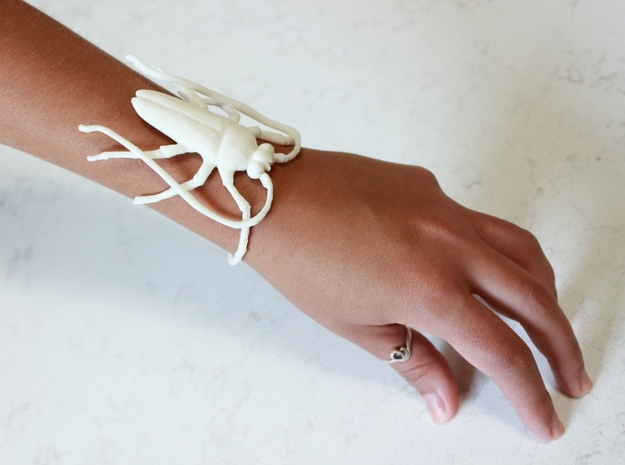 Insect Bracelet 3d printed