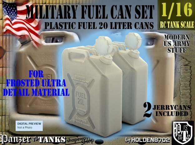 1-16 Military FUEL Can FUD SET1