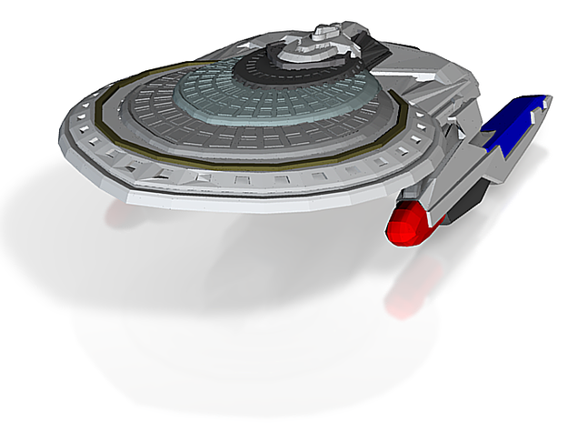 California Class HvyCruiser With Out Weapon Pod 3d printed