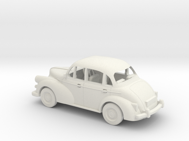1/48 Scale Morris Minor 3d printed